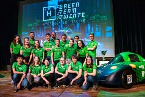 Team Photo Green Team Twente