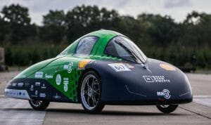 hydrogen car with in-wheel hub motor