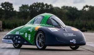 hydrogen car with in-wheel hub motor