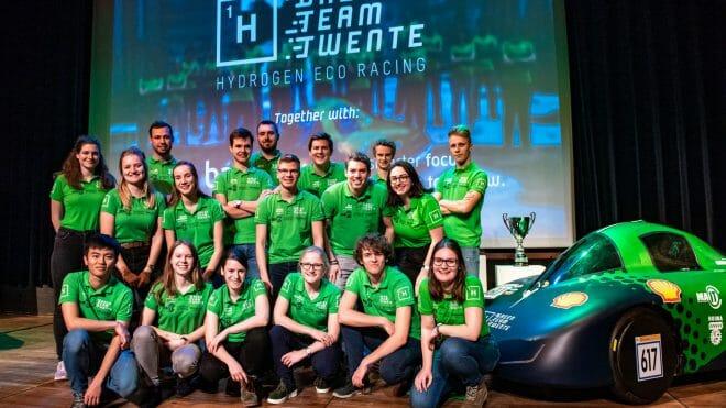Green Team Twente onthult het ontwerp voor de waterstofauto van 2020